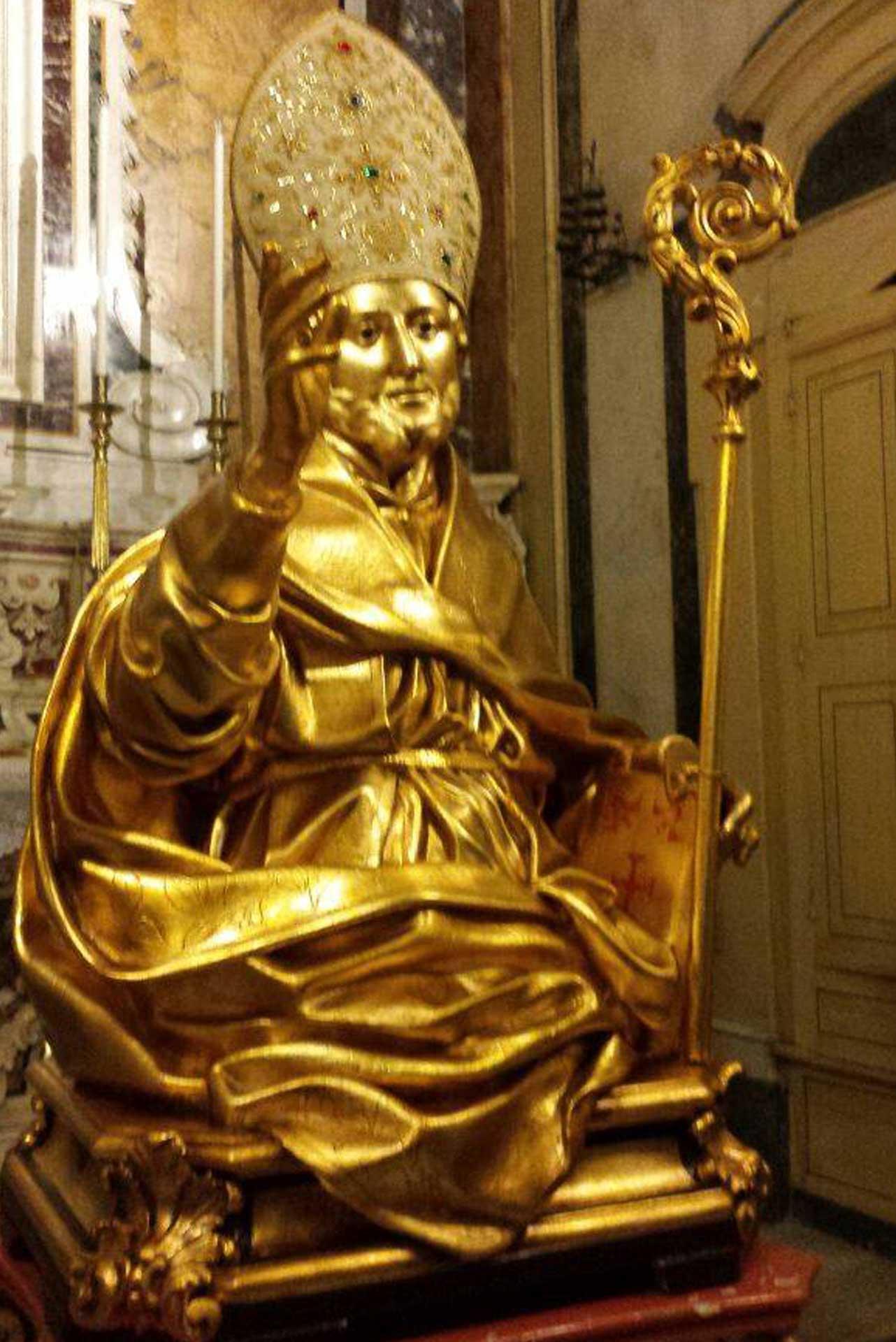 Sant'Erasmo, Vescovo e Martire Patrono di Santeramo in Colle